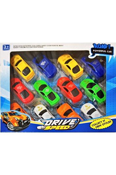 Birlik Oyuncak 12'li Araba Oyun Seti
