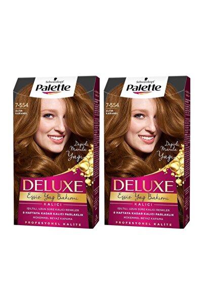 PALETTE DELUXE Deluxe 7-554 Altın Karamel X 2 Adet