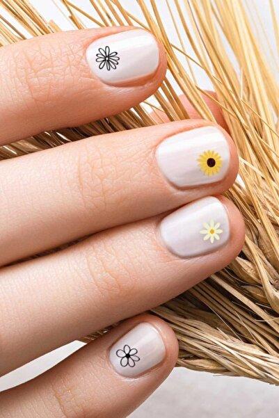 Artikel Papatya Tırnak Dövmesi,tırnak Tattoo,nail Art ,tırnak Sticker