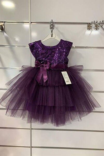 aden kids Pulpayet Elbise Kız Bebek