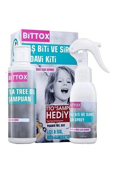 Bittox Bit Spreyi 100 ml + Tto Şampuan + Çelik Tarak