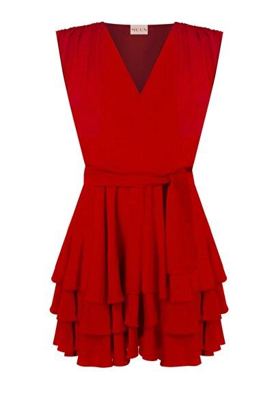Muun Like A Dream Kırmızı Abiye Elbise