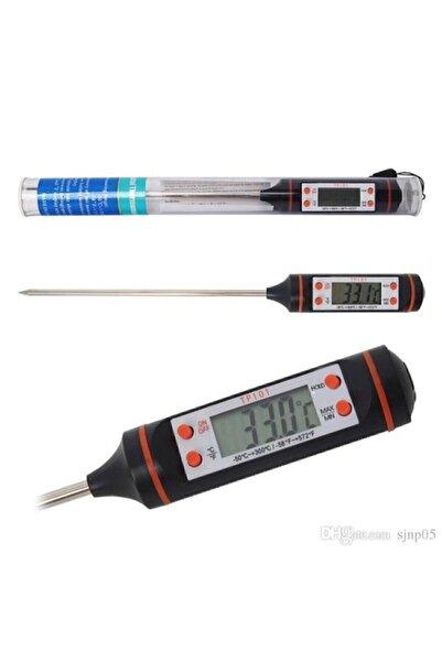 Kısmet Dijital Gıda Termometersi Sıvı Gıda,et,su,süt Yiyecek Sıcaklık Ölçer Mutfak Için Gıda Termometresi