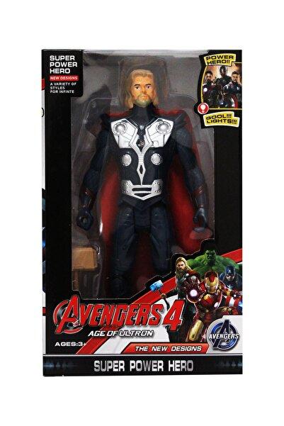 Marvel Avengers Age Of Ultron 4 Işıklı Ve Hareketli Thor Süper Hero Oyuncak