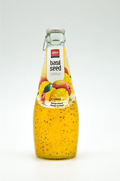 Rita 6 Adet X Fesleğen Tohumlu Içecek ( Basil Seed Drink With Mango)