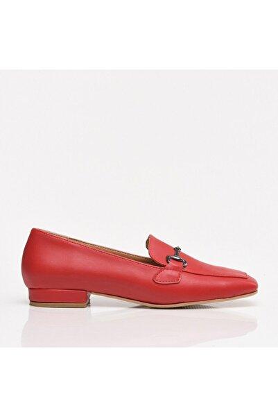 Hotiç Kırmızı Yaya Kadın Günlük Ayakkabı