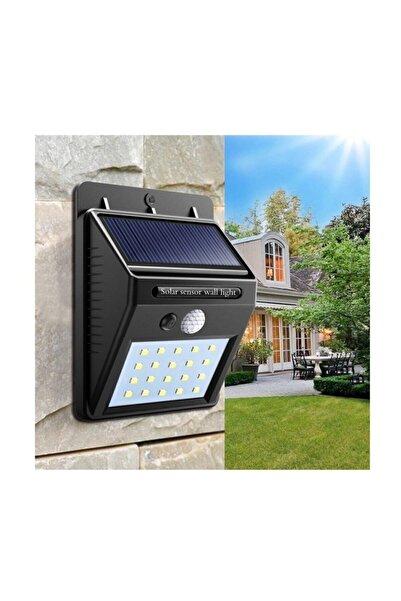 King Maxilife Güneş Enerjili Hareket Sensörlü 20 Ledli Duvar Lambası