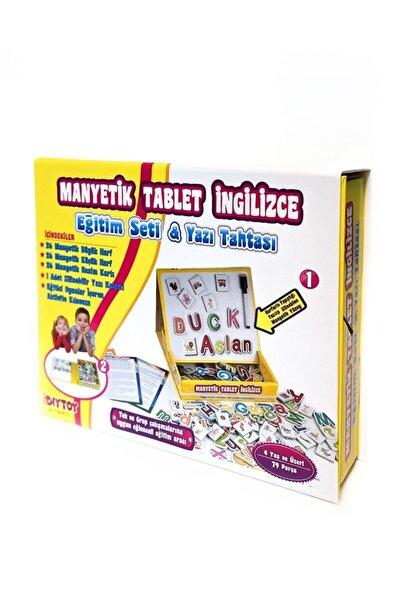 Wusta Kids Manyetik Tablet Ingilizce Eğitim Seti Ve Yazı Tahtası