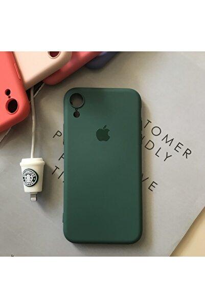 SUPPO Iphone Xr Logolu Kamera Korumalı Lansman Kılıf+kablo Koruyucu
