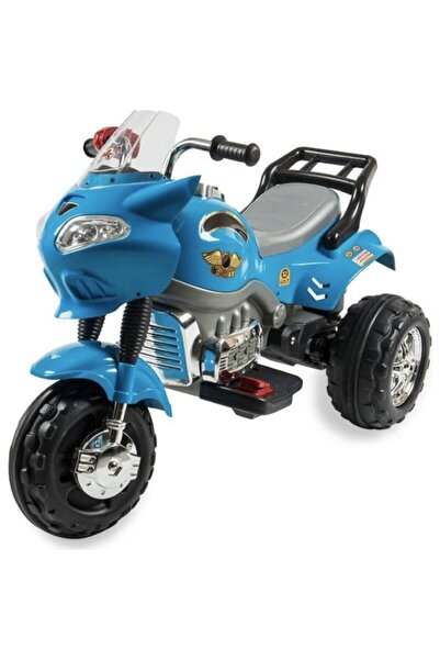 DEDE Çocuk Mavi 12 Volt Akülü Motorsiklet
