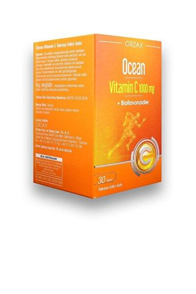 Ocean Vitamin C 1000 Mg 30 Tablet +bioflavonoidler
