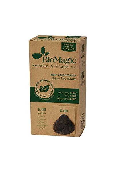BIOMAGIC Doğal Saç Boyası Açık Kahve No: 5.00