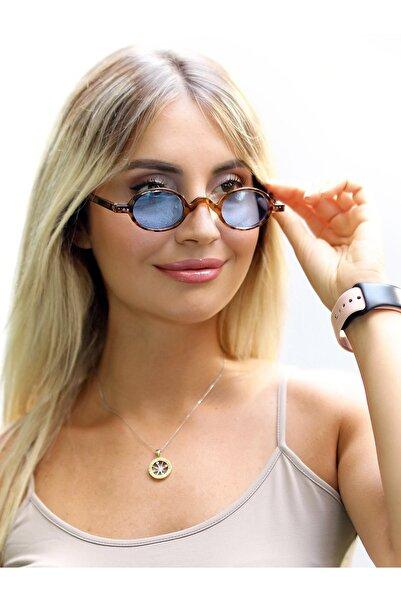 CLAES Ilgın Leopard Vintage Fashion Hafif Unisex Güneş Gözlüğü