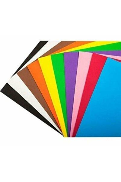Defne Fon Kartonu 10 Renk Karışık 50x70 Rulo