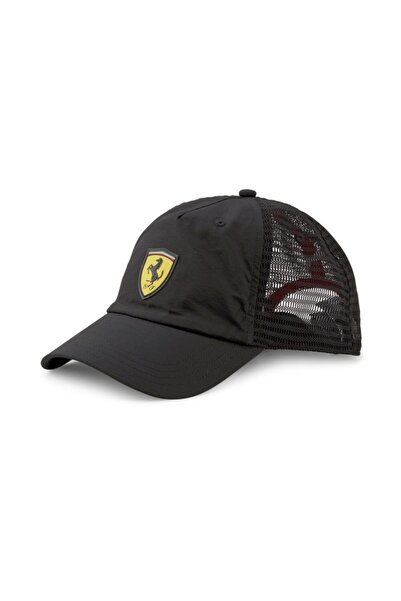 Puma Ferrari Sptwr Race Trucker Cap Unisex Siyah Şapka - 02348102