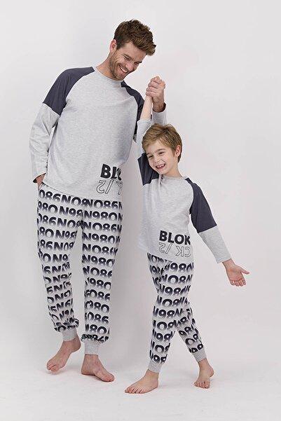 ROLY POLY Baba-oğul Kombin Grimelanj Pijama Takım