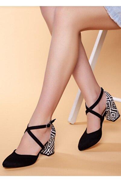 Lion Topuklu Ayakkabı