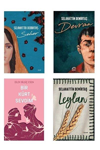 Dipnot Yayınları Devran Seher Leylan Bir Kürt Sevdim Seti ( Selahattin Demirtaş )