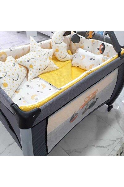 bebek iklimi 70x110 Park Beşiklere Uyumlu 10 Parça Uyku Seti