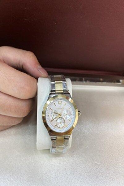 Essence Sarı Su Geçirmez Altın Kaplamalı Unisex Saat Nds1034-260