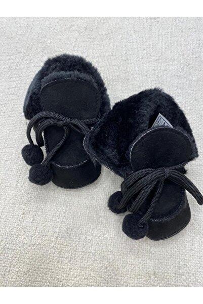 Funny Baby Funny Kız Ve Erkek Bebek Için Içi Kürklü Patik Ayakkabı Ip Bağlamalı