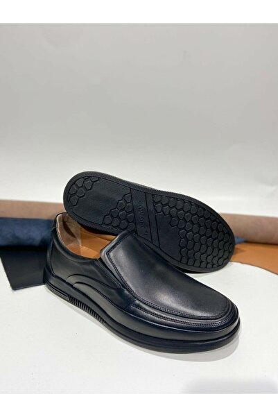 VELOCE Iç Dış Hakiki Deri Ultra Ortopedik 4 Mevsim Topuk Destekli Erkek Ayakkabı