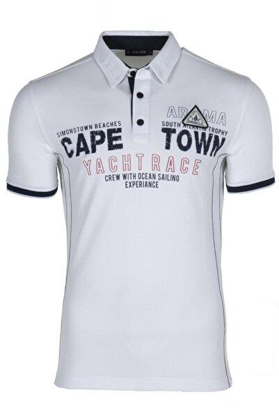 Arma Y9tyo7977 Erkek Polo Yaka Slim Fit T-shirt Kısa Kollu Yazlık Tişört