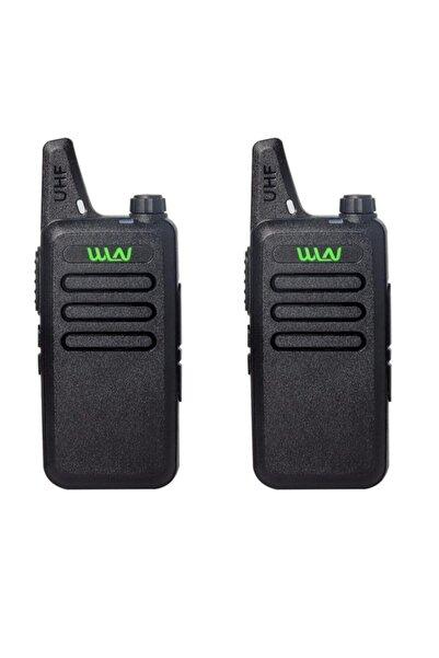 WLN 16 Kanal 15 Km Ikili El Telsizi Pmr-446 (şarj Ünitesi -batarya Dahil)