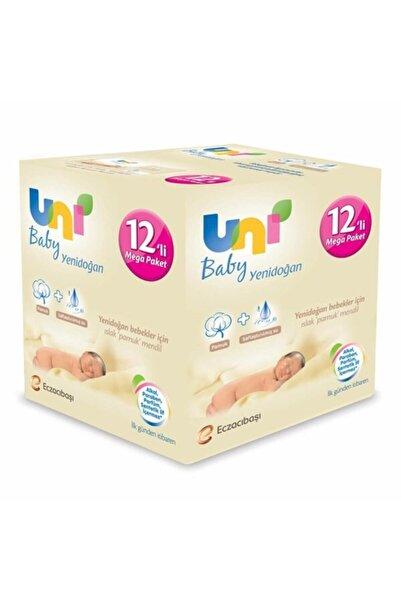 Uni Baby Unibaby Islak Havlu 12'li Paket