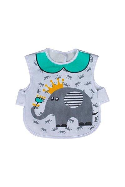 Sevi Bebe Lüks Giymeli Önlük Fil Desenli