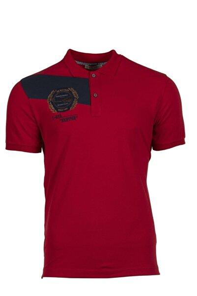 Arma Y9tyo7997 Erkek Polo Yaka Slim Fit T-shirt Kısa Kollu Yazlık Tişört