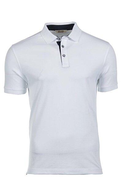 Arma Y9tyo7998 Erkek Sırt Baskılı Polo Yaka Slim Fit T-shirt Kısa Kollu Yazlık Tişört