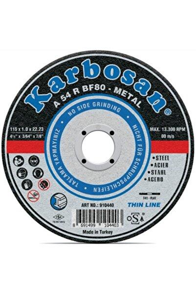 KARBOSAN 125 X 3.0 X 22.23 Mm Metal Kesme Diski