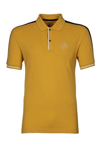 Arma Y0tyo2681 Erkek Polo Yaka Slim Fit T-shirt Kısa Kollu Yazlık Tişört