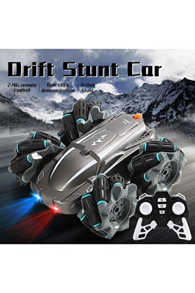 Doğan Oyuncak Dünyası Drift Stunt Car Stunt Elf Uzaktan Kumandalı Yan Gidebilen Çok Fonksiyonlu Drift Arabası
