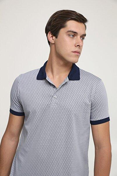 D'S Damat Regular Fit Gri Baskılı T-shirt