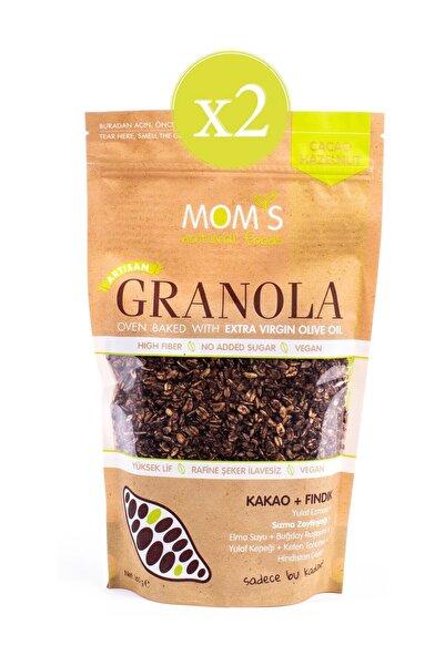 Mom's Natural Foods Mom's Granola Kakao Ve Fındık 360 gr X 2