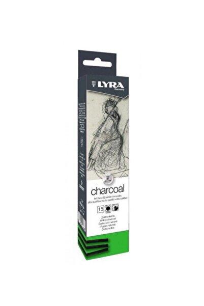 LYRA Thin Charcoal Doğal Füzen 3-4mm 15 Adet