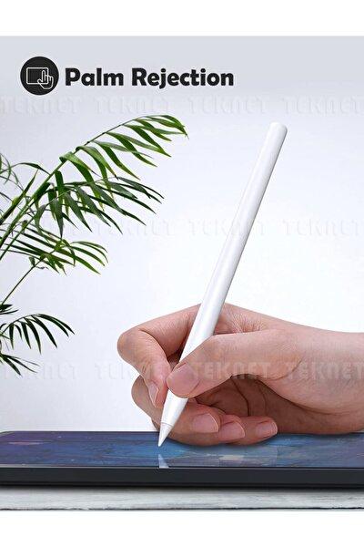 TEKNETSTORE Apple Ipad Pen Palm Rejection Teknolojisi Dokunmatik Kalem Active Stylus Özel Yazı / Çizim Kalemi