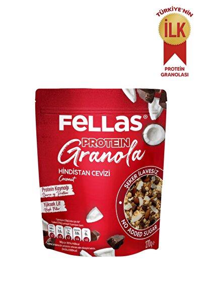 Fellas Granola - Hindistan Cevizi & Protein Bar Parçacıklı 270 Gr