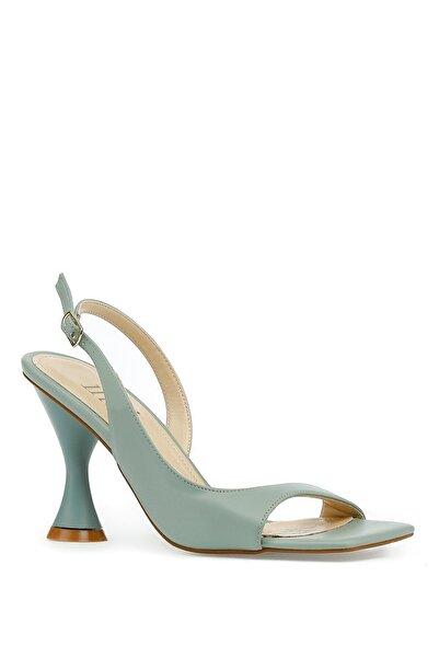 İnci Edgy.z 1pr Yeşil Kadın Sandalet