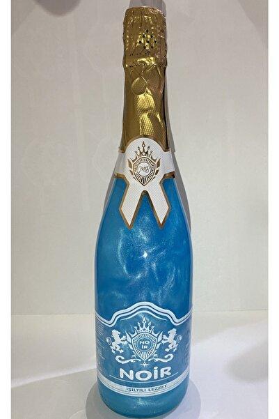 Noir Simli Alkolsüz Mavi Yaban Mersini (blue Hawaii) Aromalı Gazlı İçecek 750ml İçecek