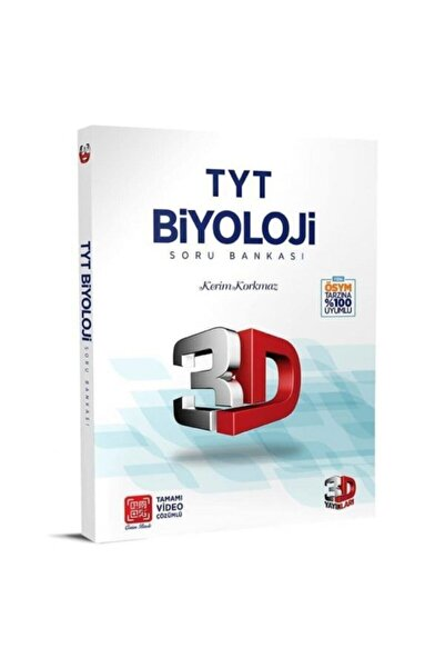 Çözüm Yayınları 3d Yayınları Yks Tyt Biyoloji Soru Bankası Tamamı Video Çözümlü