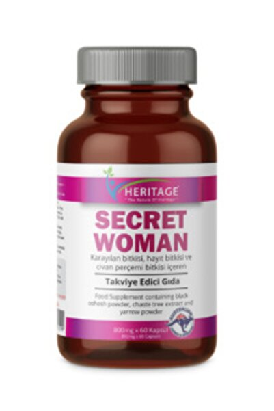 HERITAGE Secret Woman 800 Mg * 60