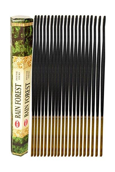 Hem Tütsü Hem Yağmur Ormanı Kokulu Tütsü Rain Forest Incense 1 Paket (20 ÇUBUK)