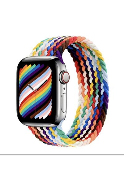TT Option Apple Watch Uyumlu 38 / 40mm Örgülü Esnek Kordon