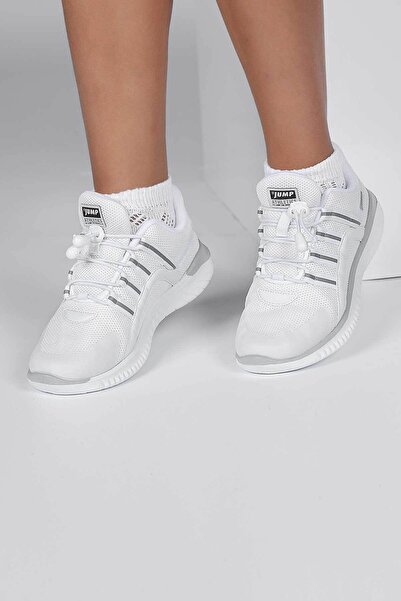 Jump Çocuk Beyaz Spor Ayakkabı 26095