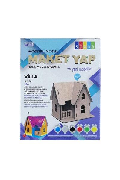 Airfix Südor Ahşap Maket Villa Boyama Seti 14x11x12cm N:md2-04