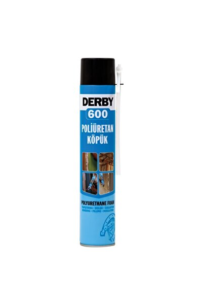 Derby 600 Poliüretan Köpük Sprey 600 gr 16 Adet