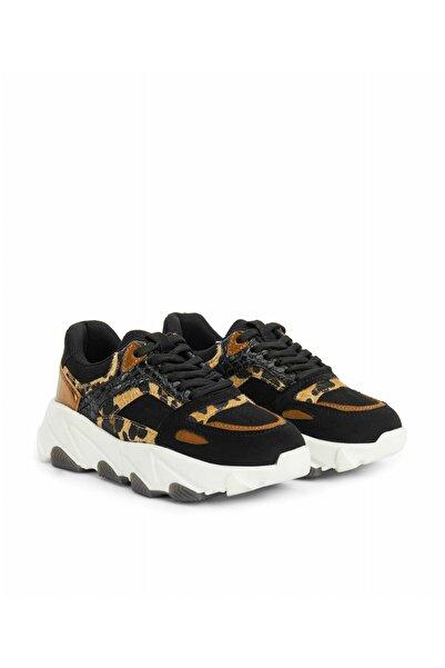 İpekyol Kadın Kahverengi Leopar Desen Sneaker IW6200062002